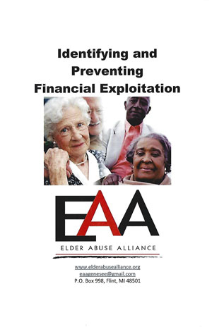 EAA - Identifying and Preventing Financial Exploitation
